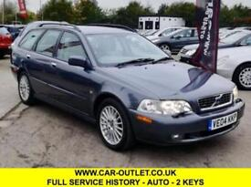 2004 VOLVO V40 SE AUTOMATIC 1.8 ESTATE FULL SERVICE HISTORY 2 KEYS 2 OWNERS