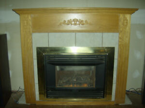 Valor Legend Natural Gas Fireplace Direct Vent Nice Condition