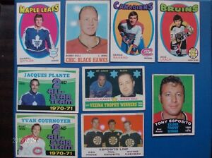 VINTAGE O-PEE-CHEE CARDS FROM  1969-1970-1971  !!!!!!!