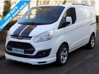 14(14) FORD TRANSIT CUSTOM LIMITED L1H1 270 SWB LOW ROOF 125BHP ST SPORT STYLE