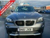 2011 61 BMW X1 2.0 XDRIVE20D SE 5 DOOR DIESEL GREY AUTOMATIC 1 OWNER DIESEL 4WD