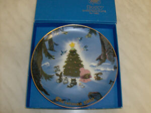 Japanese Collector's Plate Limited Edition from 1982