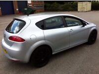 """CHEAPEST 2008 SEAT LEON 1.9 TDI LOW MILEAGE 2 KEYS 1 OWNER FROM NEW 17""""BLACK ALLOYS SERVICE PX SWAPS"""