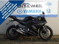 2017 67 YAMAHA YZF-R125 ***BRAND NEW 2017*** ***CUSTOMIZED WITH GENUINE YAMAHA A