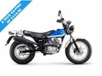 2017 17 SUZUKI RV125 VAN VAN BLUE, BRAND NEW!