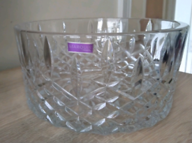 MARQUIS BY WATERFORD CRYSTAL NINE INCH BOWL.