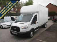 2015 65 FORD TRANSIT FORD LUTON ALLOY TAIL LIFT 2.2 350 C/C DRW 125BHP 2015 Y