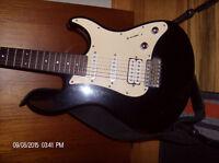 Yamaha Pacific electric guitar