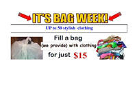 Week May 8-13,2017, Special offers !!