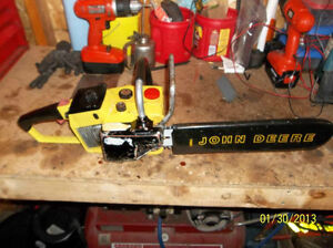WANTED john deere chainsaws any color or condition London Ontario image 3