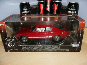 1/18 DIECAST HIGHWAY 61 BARRACUDA 1968 COMME NEUF