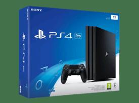 ⭐7 Games⭐Latest Model, PS4 PRO 1TB 1000GB, Genuine Accessories