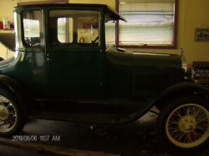 1927 model t dr.s coupe