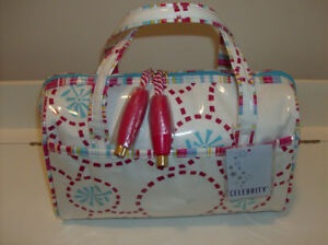 New Celebrity Purse + 2 Tote Bags + New Friction Perfume Set