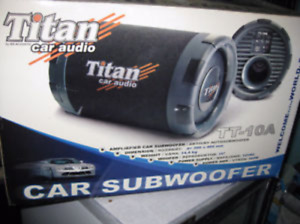 CAR SUBWOOFER 300 WATTS