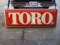 Toro Backlit Sign