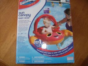 Flotteur gonflable pour bébé de marque Sun Canopy