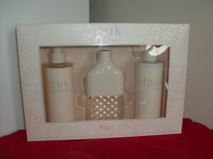 NEW Perfume - Friction 3 Pc Set + Purses + Clothing