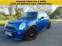 LOVELY MINI 1.6 COOPER S SERVICE HISTORY SUPERB CONDITION TEAM DYNAMIC WHEELS