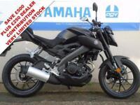 2017 YAMAHA MT-125 ABS, TECH BLACK BRAND NEW! *0% FINANCE*