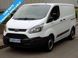 64(15) FORD TRANSIT CUSTOM L1H1 290 SWB LOW ROOF 2.2 100BHP 6 SPEED EURO5