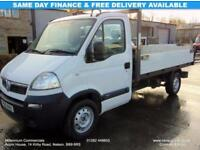2010 10-REG VAUXHALL MOVANO TIPPER, DROPSIDE, ONE OWNER FROM NEW, FULL HISTORY