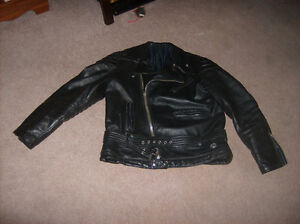 100% all leather motorbike apparel   made in canada