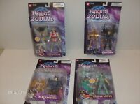 "4 different    "" KNIGHTS of the ZODIAC ""   ACTION  FIGURES !!"