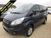 2014 63 FORD TRANSIT CUSTOM 2.2 TDCI 290 LIMITED LOW ROOF 125 BHP SWB 31561 MIL