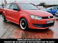 2010 VW POLO SE 1.4 17'' LENSO ALLOY WHEELS LONG MOT PETROL 3DR 85 BHP