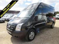 2013 13 FORD TRANSIT 2.2 TDCI 350 TREND LWB HI ROOF 125 BHP VAN WITH TAIL LIFT 5