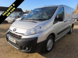 2014 14 TOYOTA PROACE L2H1 2.0 HDI 1200 130 BHP WITH REAR TAILGATE AIR CON DIESE