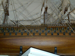 Wooden Model Ships and Boats