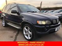 2003 V BMW X5 4.6 CARBON BLACK EDITION 5DR AUTO 342 BHP-INDIVIDUAL-LEATHER-SATNA