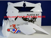 New Plastic Kit KTM EXC EXCF 125/200/250/300/450/525 05-07 SX SXF 04-06 White