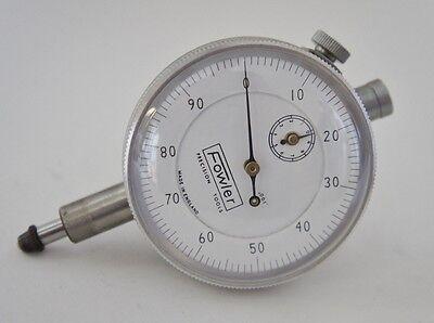 Fowler .250 Dial Indicator .001 Graduations England