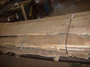 Walnut lumber