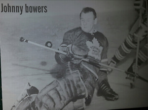 Johnny  Bowers NHL Hockey picture print