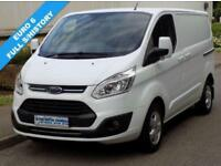 66(16) FORD TRANSIT CUSTOM LIMITED L1H1 270 SWB 2.0 130BHP 6 SPEED EURO 6