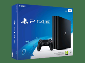 ⭐PS4 PRO⭐1TB Console, Games, Genuine Sony Controller, All Leads