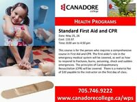Parry Sound - Canadore College - Standard First Aid and CPR