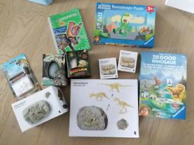 Dinosaur Excavation Kit and Games