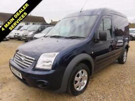2013 13 FORD TRANSIT CONNECT 1.8 TDCI T230 LIMITED LWB HIGH ROOF 110 BHP 19836 M