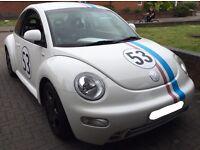 VW Beetle In Rare White 2.0 Litre Petrol Auto