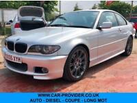 2005 BMW 320CD SPORT AUTO LOW MILES SERVICE HISTORY LONG MOT 2DR COUPE 148 BHP