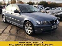 2003 BMW 318I SE FULL SERVICE HISTORY 3 KEYS LONG MOT 2.0 PETROL 4DR 141 BHP
