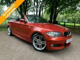 BMW 1 SERIES 2.0 120D M SPORT 2D 175 BHP DIESEL LEATHER + M SPORT + AUTOAMTIC