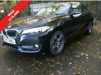 2017 BMW 2 Series 1.5 218i Sport Auto (s/s) 2dr Coupe Petrol Automatic