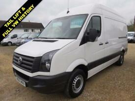 2013 63 VOLKSWAGEN CRAFTER 2.0 CR35 TDI HIGH ROOF MWB STARTLINE WITH TAIL LIFT 6