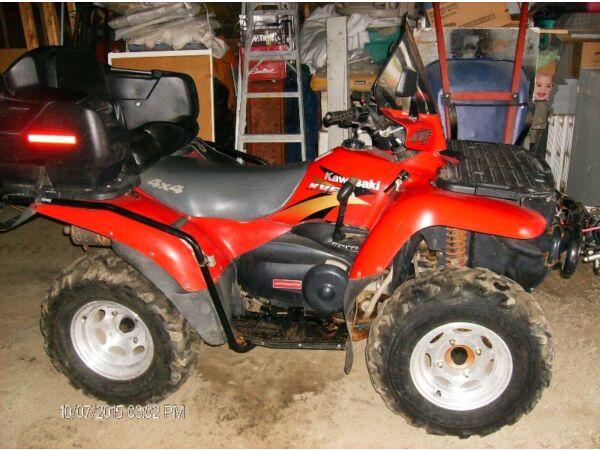 Used 2000 Kawasaki KVF400